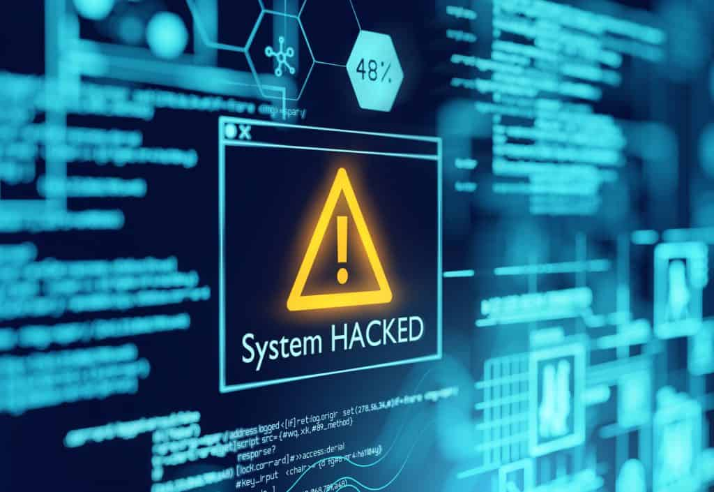 Orana Showing Hacked System